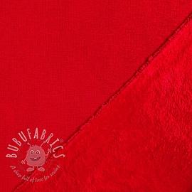 Alpenfleece crimson red