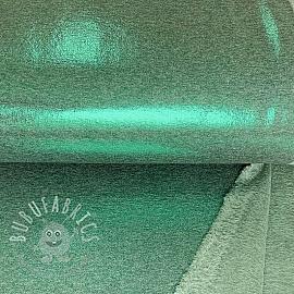 Alpenfleece FOIL Sparkling dusty green 2nd class