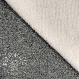 Alpenfleece UNI melange dark grey