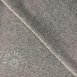 Alpenfleece UNI melange grey