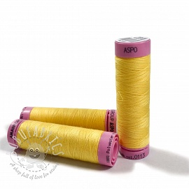 Polyester thread Amann Aspo 120 bright yellow
