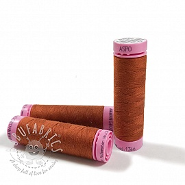 Polyester thread Amann Aspo 120 dark cinnamon