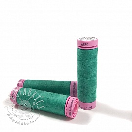 Polyester thread Amann Aspo 120 emerald