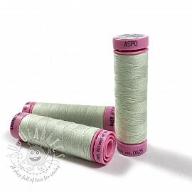 Polyester thread Amann Aspo 120 green grey