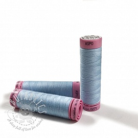 Polyester thread Amann Aspo 120 light blue