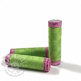 Polyester thread Amann Aspo 120 lime