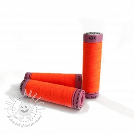 Polyester thread Amann Aspo 120 neon orange