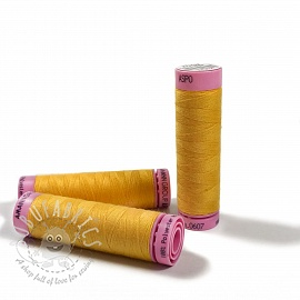 Polyester thread Amann Aspo 120 yellow