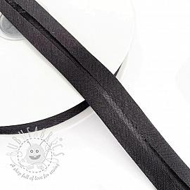 Bias binding cotton anthracite