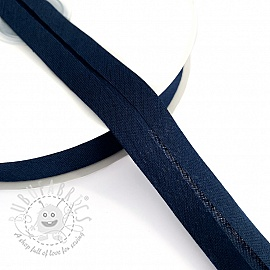 Bias binding cotton dark blue