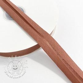 Bias binding cotton dark salmon