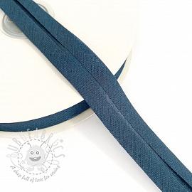 Bias binding cotton jeans