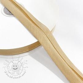 Bias binding cotton light sand