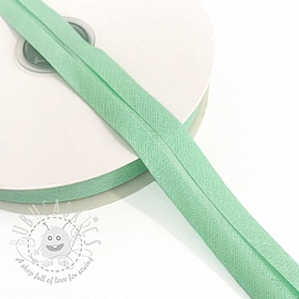 Bias binding cotton old green