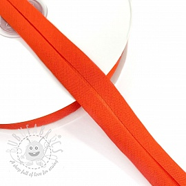 Bias binding cotton orange