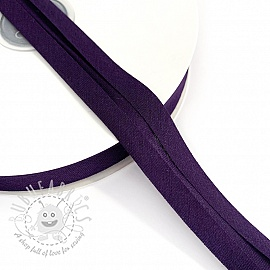 Bias binding cotton purple