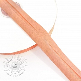 Bias binding cotton salmon