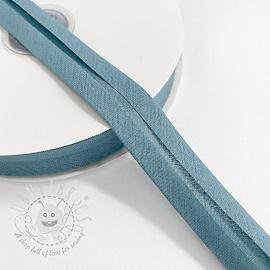 Bias binding cotton steel blue