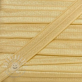 Bias binding elastic 15 mm light yellow