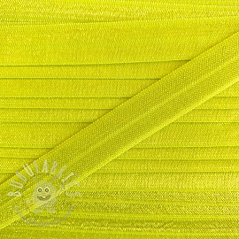 Bias binding elastic 15 mm neon yellow