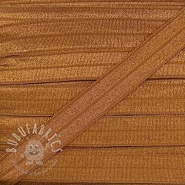 Bias binding elastic 15 mm rust