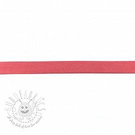 Bias binding jersey dark pink