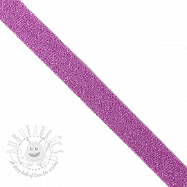 Bias binding LUREX lilac