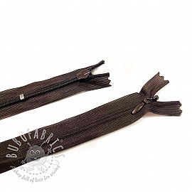 Blind Zippers Adjustable 25 cm Brown