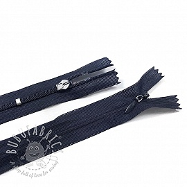 Blind Zippers Adjustable 25 cm Dark Blue