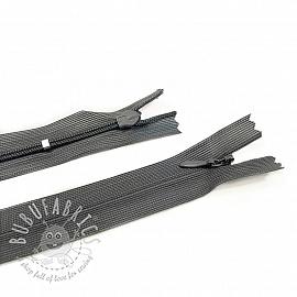 Blind Zippers Adjustable 25 cm Dark Grey