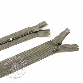 Blind Zippers Adjustable 25 cm Taupe