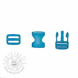 Bum Bag Clip 25 mm aqua
