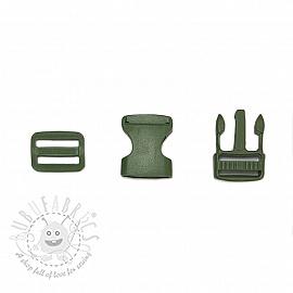 Bum Bag Clip 25 mm army