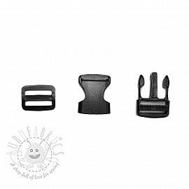 Bum Bag Clip 25 mm black