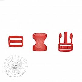 Bum Bag Clip 25 mm red
