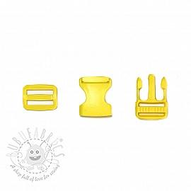 Bum Bag Clip 25 mm yellow
