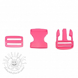 Bum Bag Clip 38 mm light fuchsia