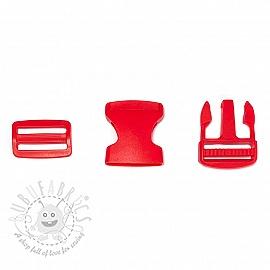 Bum Bag Clip 38 mm red