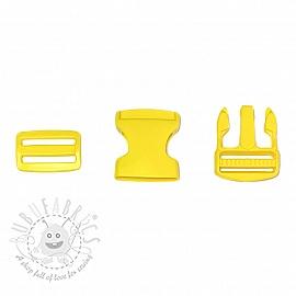 Bum Bag Clip 38 mm yellow