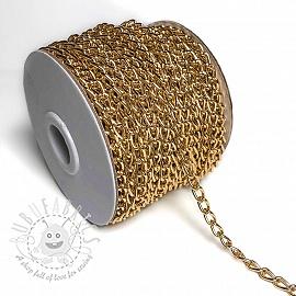 Coat Hanging Chain Loop 5 mm gold