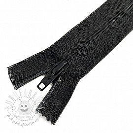 Coil Zipper 66 cm black