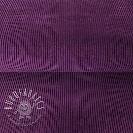 Corduroy purple