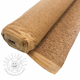 Cork wood natural glitter gold