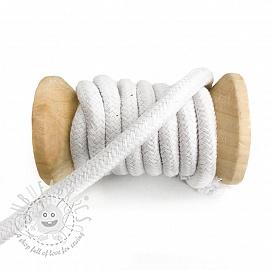 Cotton cord 10 mm white