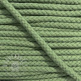 Cotton cord 8 mm dark old green