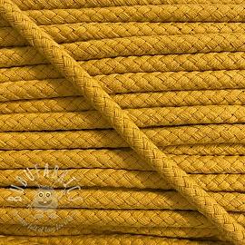 Cotton cord 8 mm ochre