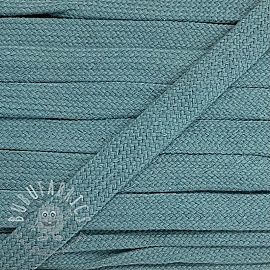 Cotton cord flat 17 mm baby blue