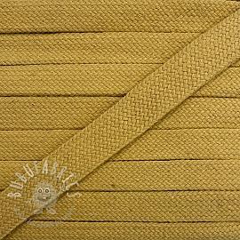 Cotton cord flat 17 mm camel