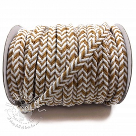 Cotton cord twisted camel