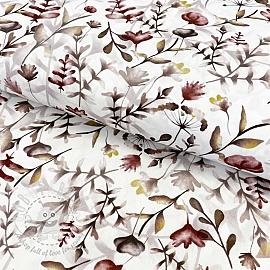 Cotton fabric Amor twig shadow digital print